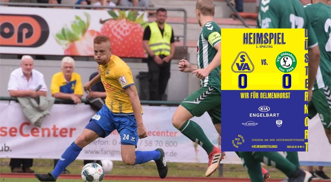 Torloses Unentschieden gegen VfL Oldenburg
