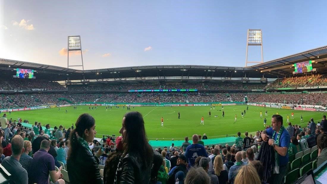"""SVA erlebt sein """"Jahrhundertspiel"""" im Weserstadion"""