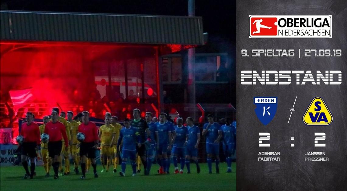 Bitteres Ende Bei Kickers Emden Sv Atlas Delmenhorst E V