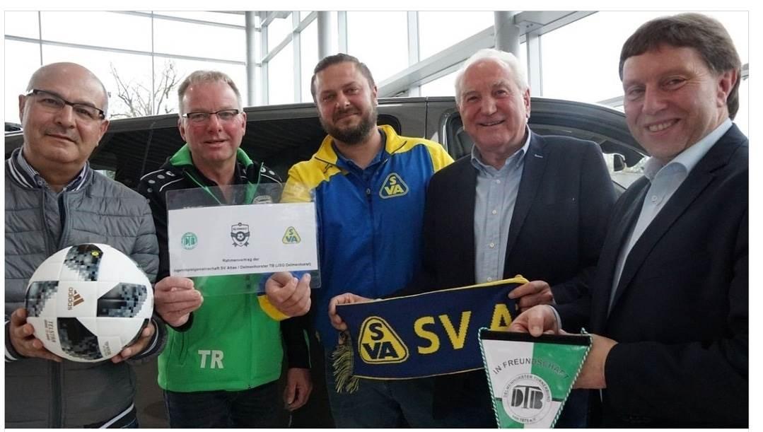 DTB und SV Atlas starten mit der JSG durch