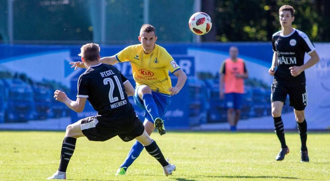 Florian Stütz - ein bescheidener Ballverteiler