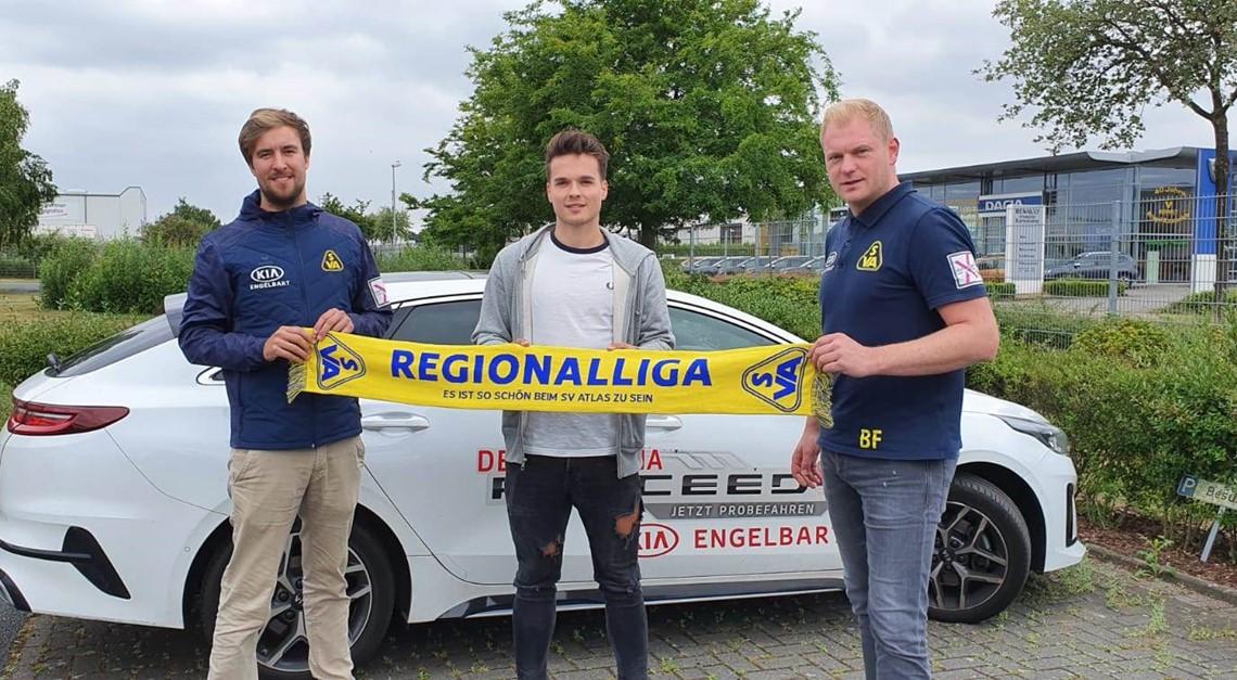 SV Atlas freut sich auf Philipp Eggersglüß