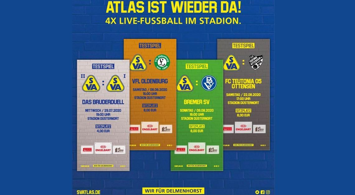 Atlas gegen Atlas – das Aufsteigerduell