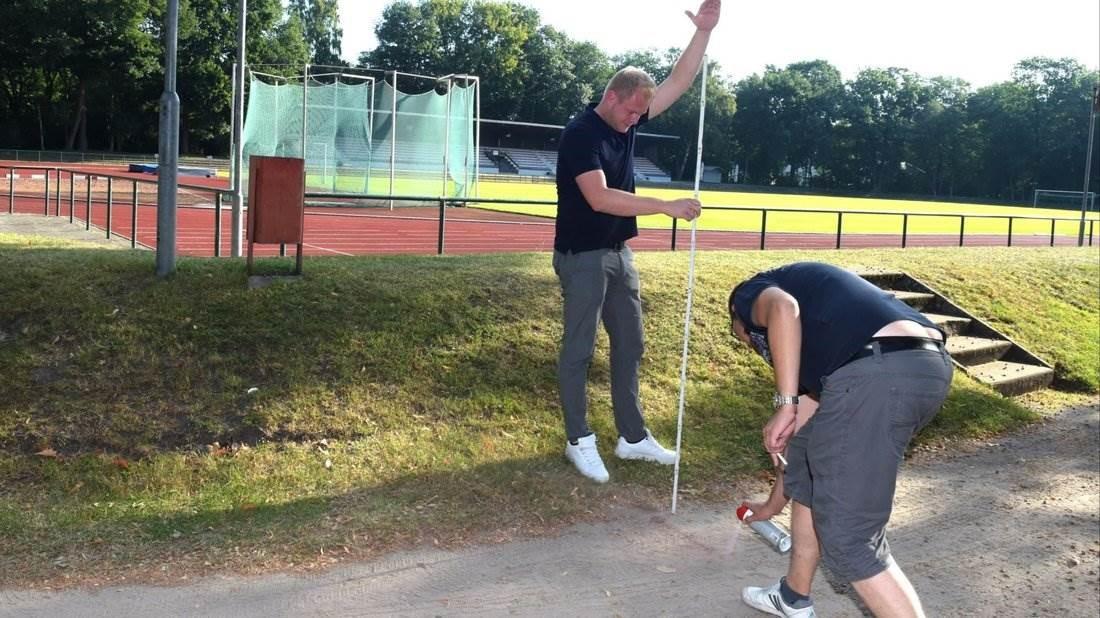Stadion wird für die Regionalliga fit gemacht