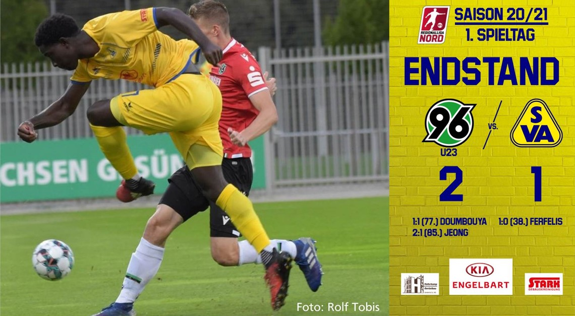 SV Atlas verliert bei Hannover 96 II