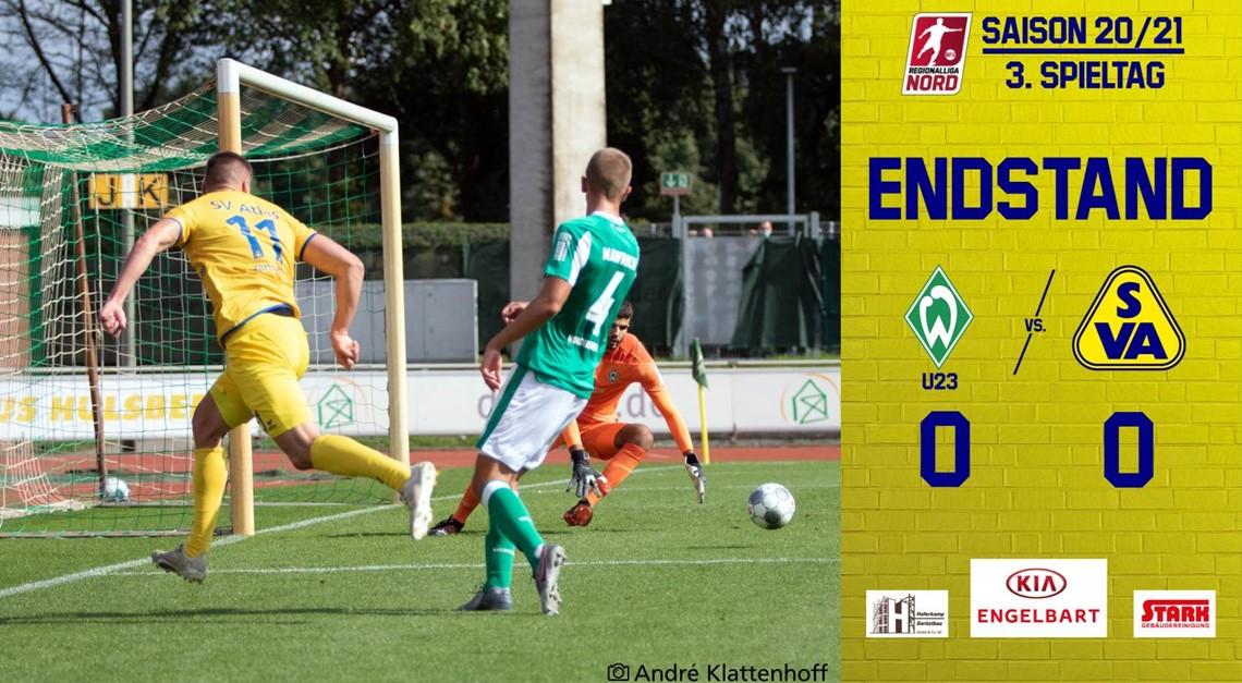 Verdientes Unentschieden bei SV Werder II