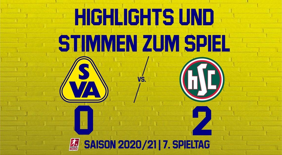 Highlights zum Spiel gegen HSC Hannover
