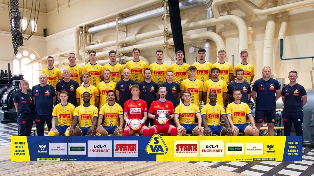 Mannschaftsfoto SV Atlas