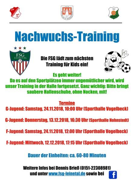 Nachwuchs-Training