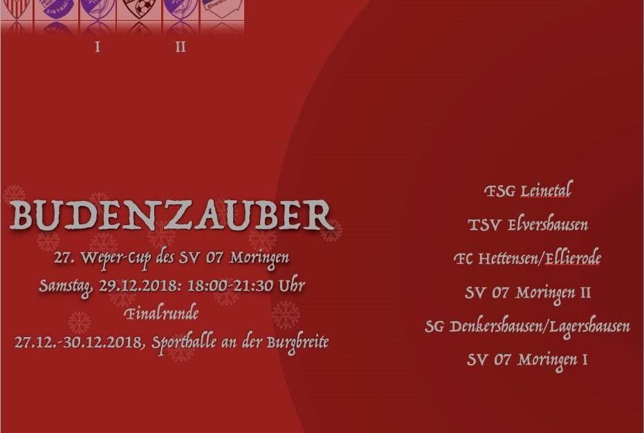 Weper-Cup 2018 des SV 07 Moringen - Finalrunde