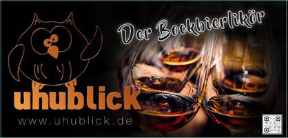 Sponsor - Uhublick - der Bockbierlikör
