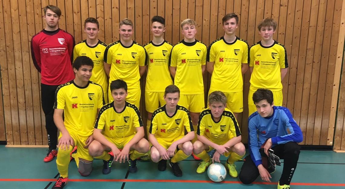 B1 gewinnt Hallenstadtmeisterschaft von Hattingen.