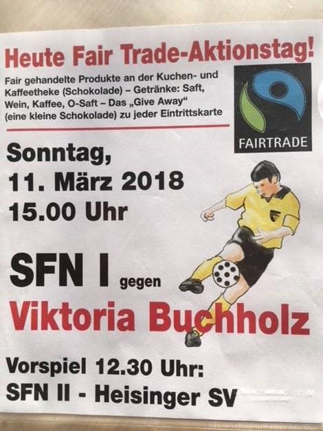 Fair Trade Tag bei den Sportfreunden!