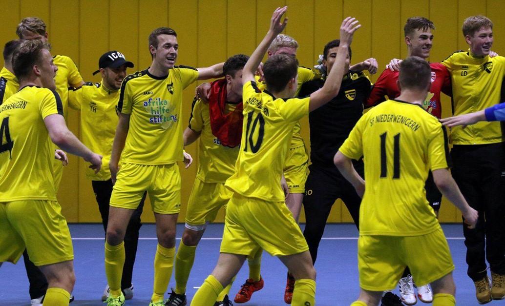 A-Jugend beste Futsalmannschaft im Niederrhein