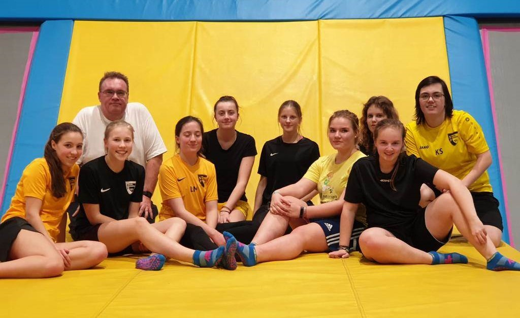 Trainingslager & Trampolineinheiten A-Juniorinnen
