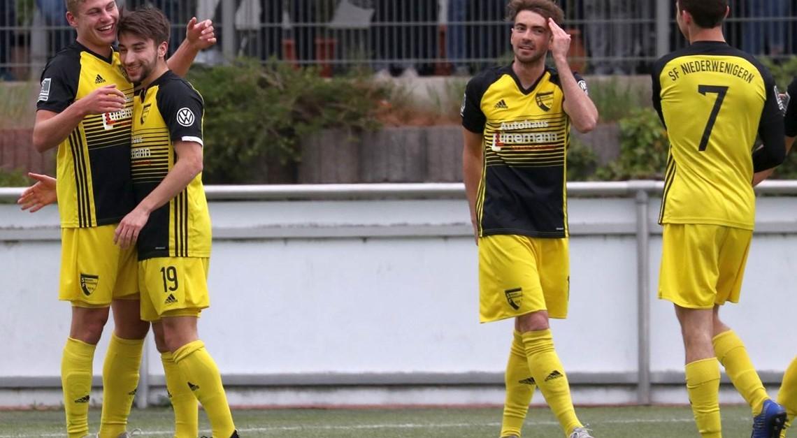 Sportfreunde gewinnen gegen Wesel mit 3:2 (2:1)