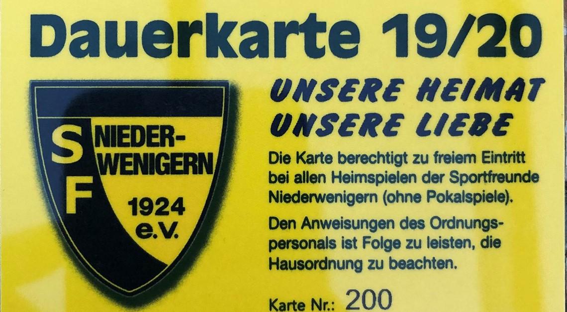 Jetzt Dauerkarte für die Oberliga sichern!