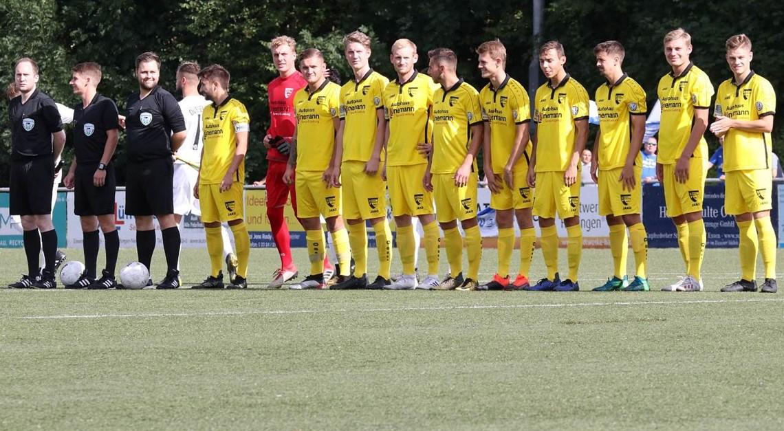 SFN empfängt den Aufstiegsanwärter 1. FC Bocholt