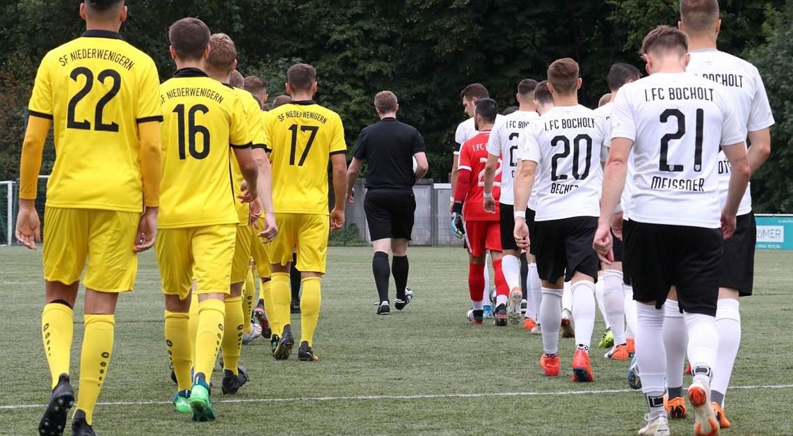 SFN im Spiel gegen 1.FC Bocholt ohne Chance