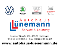 Sponsor - Autohaus Lünemann