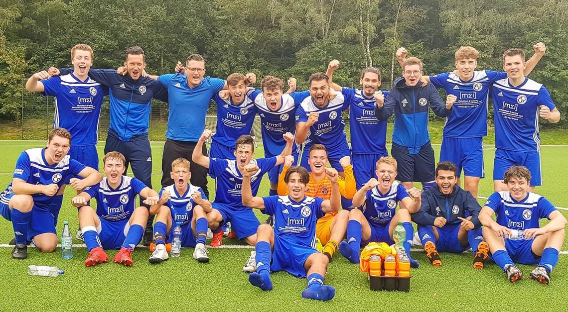 A-Jugend erreicht im Pokal die nächste Runde