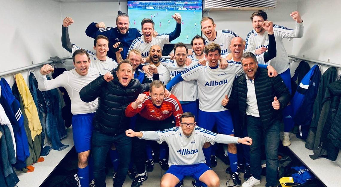 """SVA """"Alte Herren"""" ziehen ins Halbfinale ein!"""