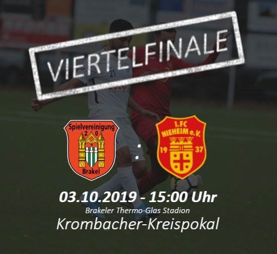 Vorbericht: Viertelfinale im Kreispokal