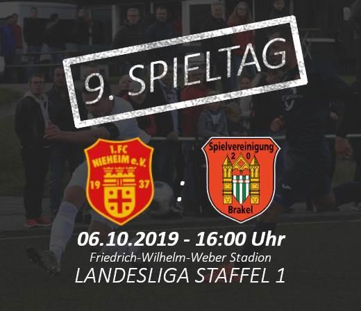 Derby-Nr. 2 FC Nieheim empfängt die Spvg 20 Brakel