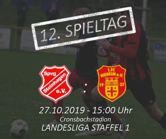 Vorbericht: 12. Spieltag Landesliga