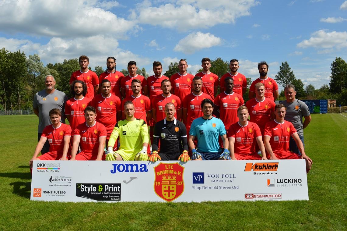 Mannschaftsfoto FC Nieheim