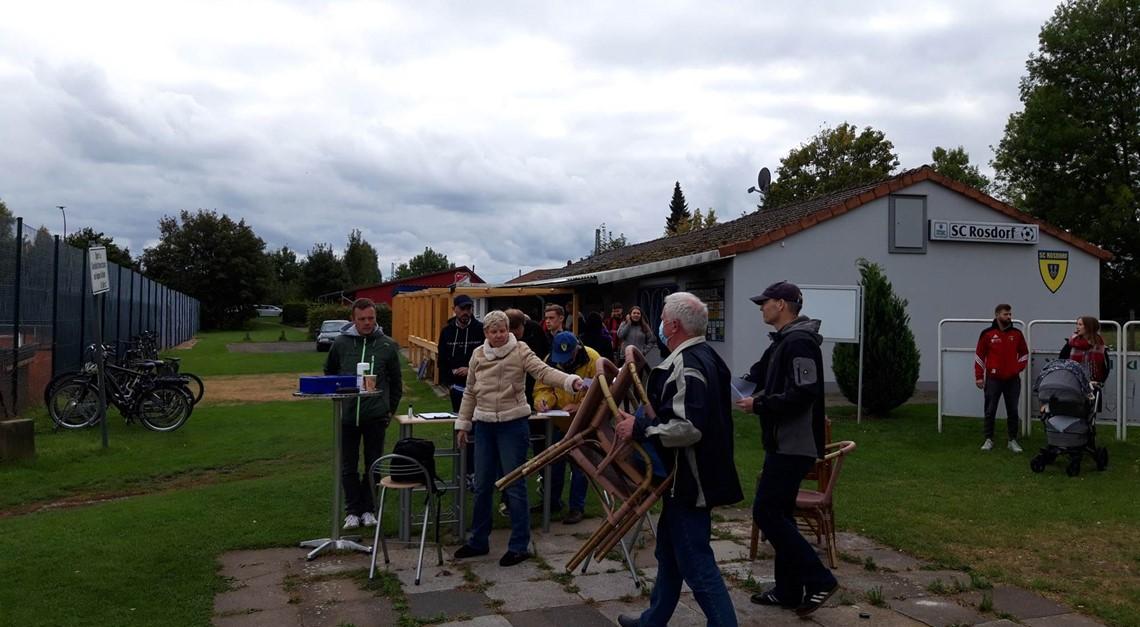 Spitzenspiel in Rosdorf