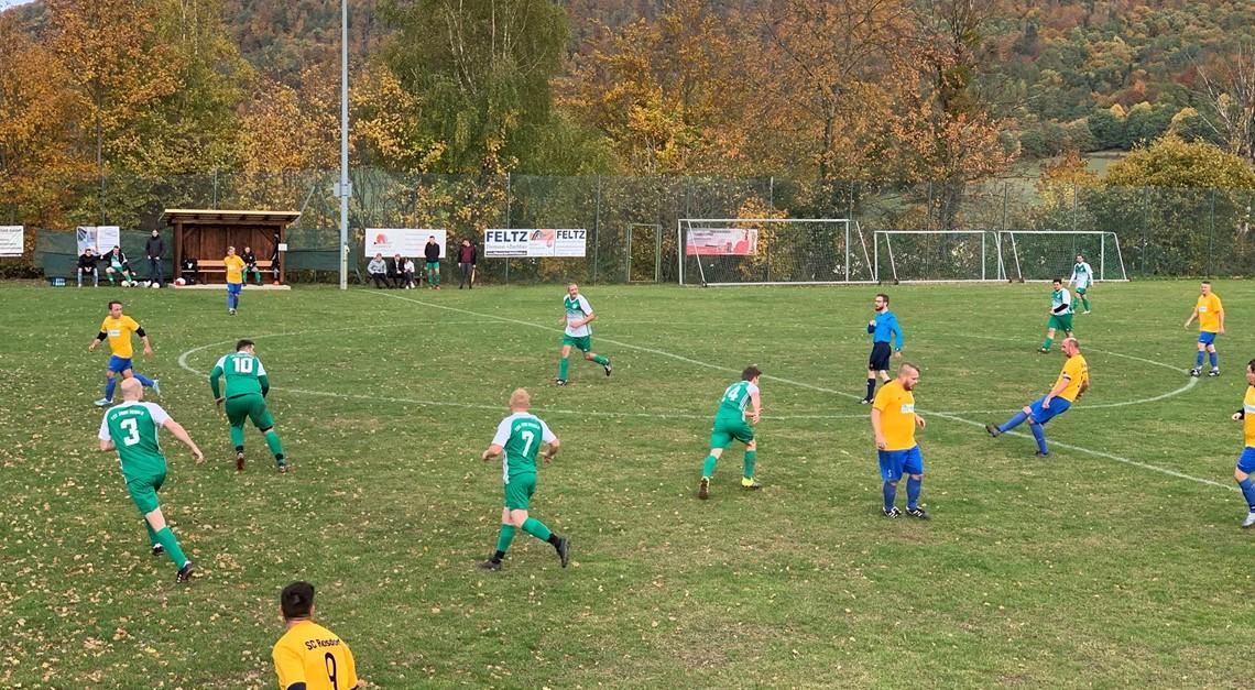 Rosdorf II siegt auswärts mit 7 Treffern