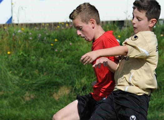 D-Junioren gewinnen auch in Hoppstädten