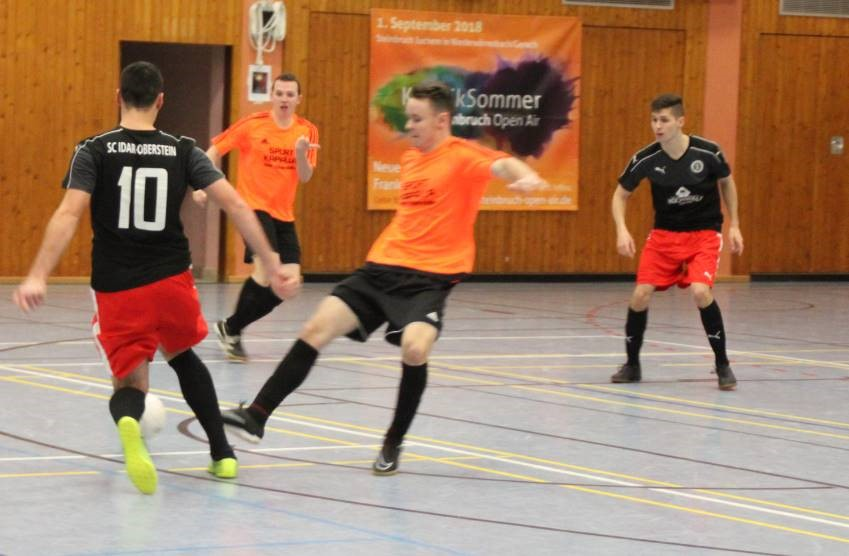 U23 bei Futsal-Südwestmeisterschaft auf Rang 4