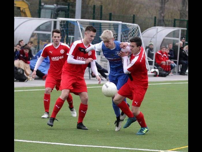 U19 chancenlos in Ludwigshafen