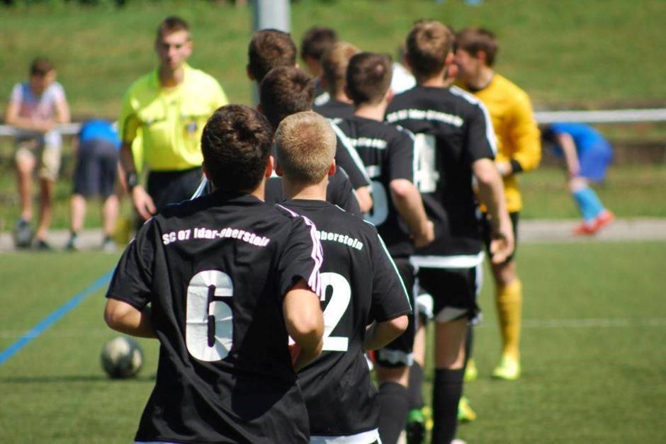 U19 des SC verliert gegen Knittelsheim