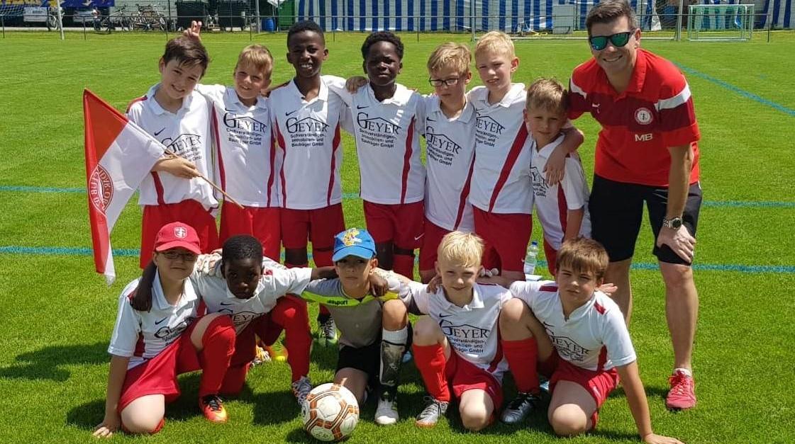 F-Junioren des SC 07 Idar-Oberstein im Europapark