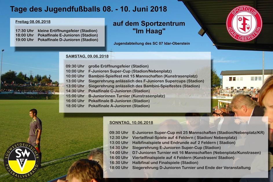Tage des Jugendfußballs auf dem Haag