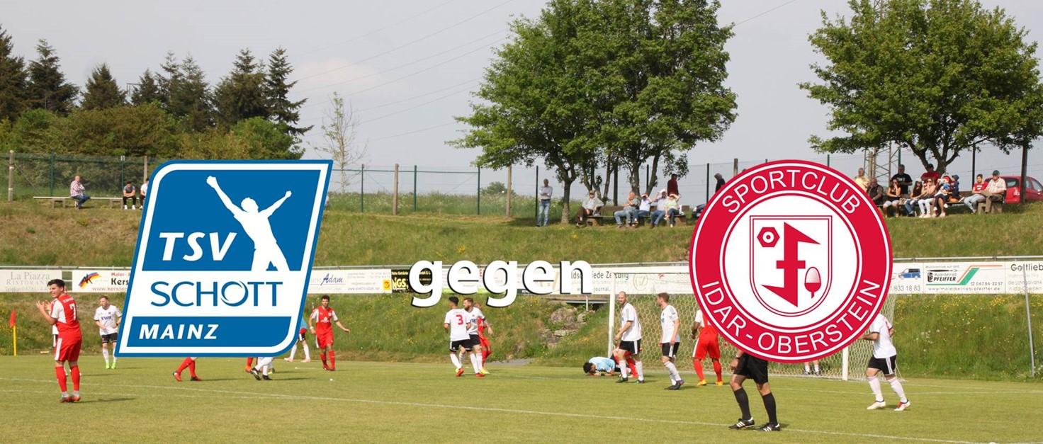 Die Oberliga-Elf ist zu Gast bei Schott Mainz