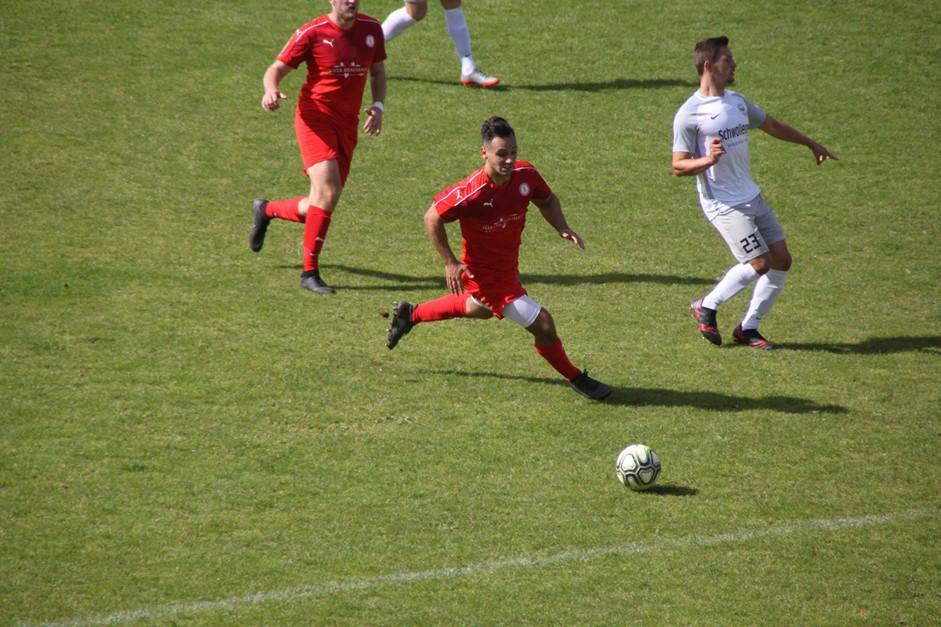 Die U23 ist zu Gast in Hüffelsheim