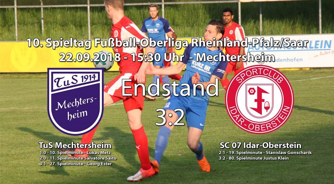 Niederlage in Mechtersheim