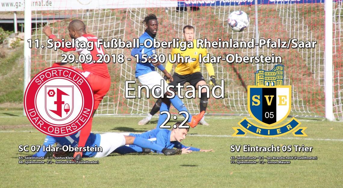 Unentschieden gegen Trier