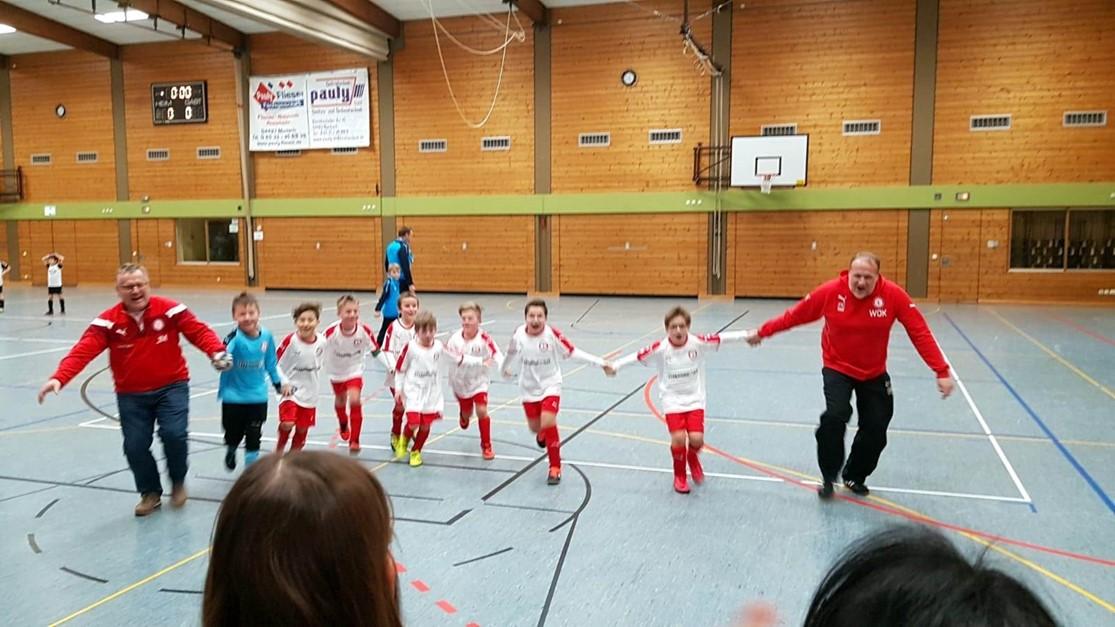SC F-Junioren feiern dritten Platz
