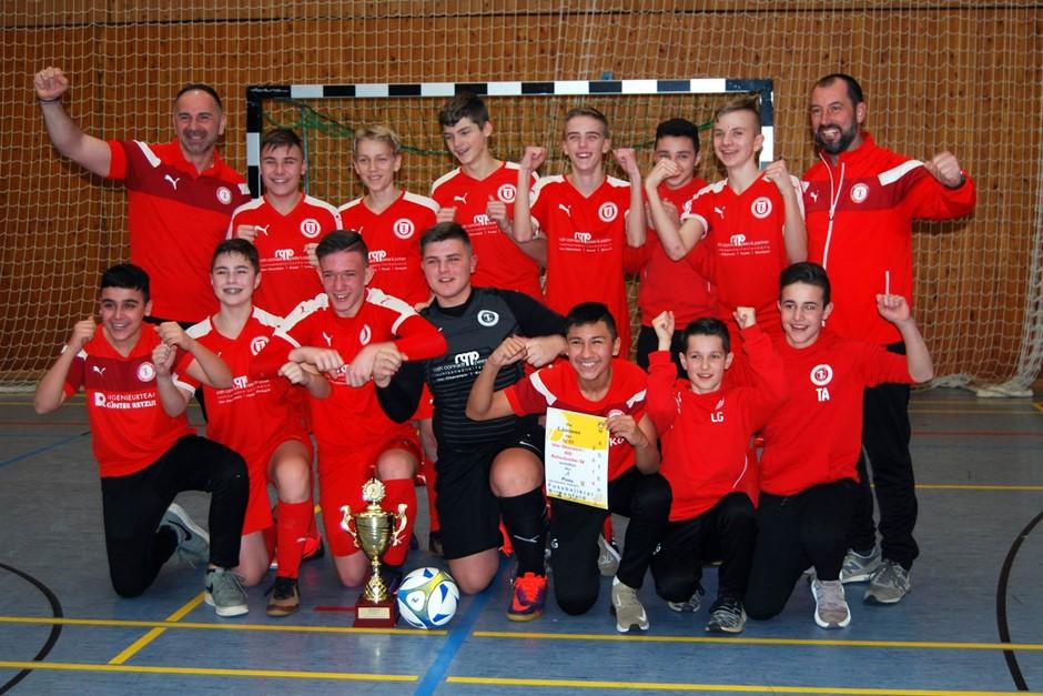 C-Junioren gewinnen Hallenmasters