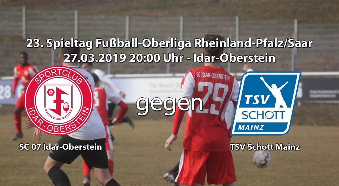 TSV Schott Mainz  zu Gast im Haag