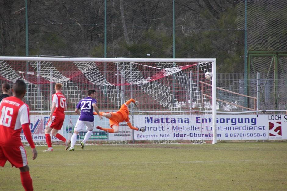Idar spielt Unentschieden gegen Jägersburg