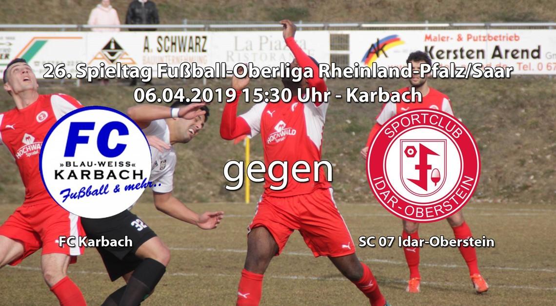 Auswärtsspiel in Karbach