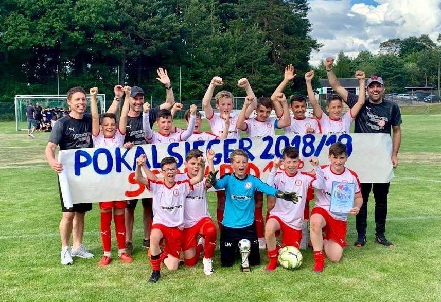 D1-Junioren sind Kreispokalsieger 2019