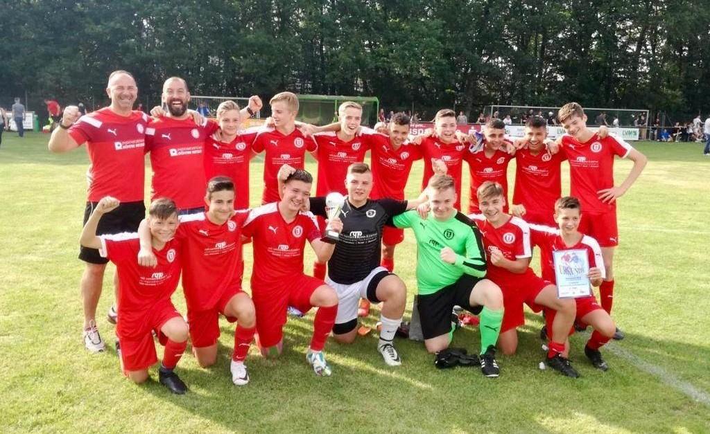 C1-Junioren sind Kreispokalsieger 2019