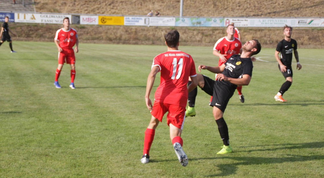 Die Landesliga-Elf verliert mit 1:4